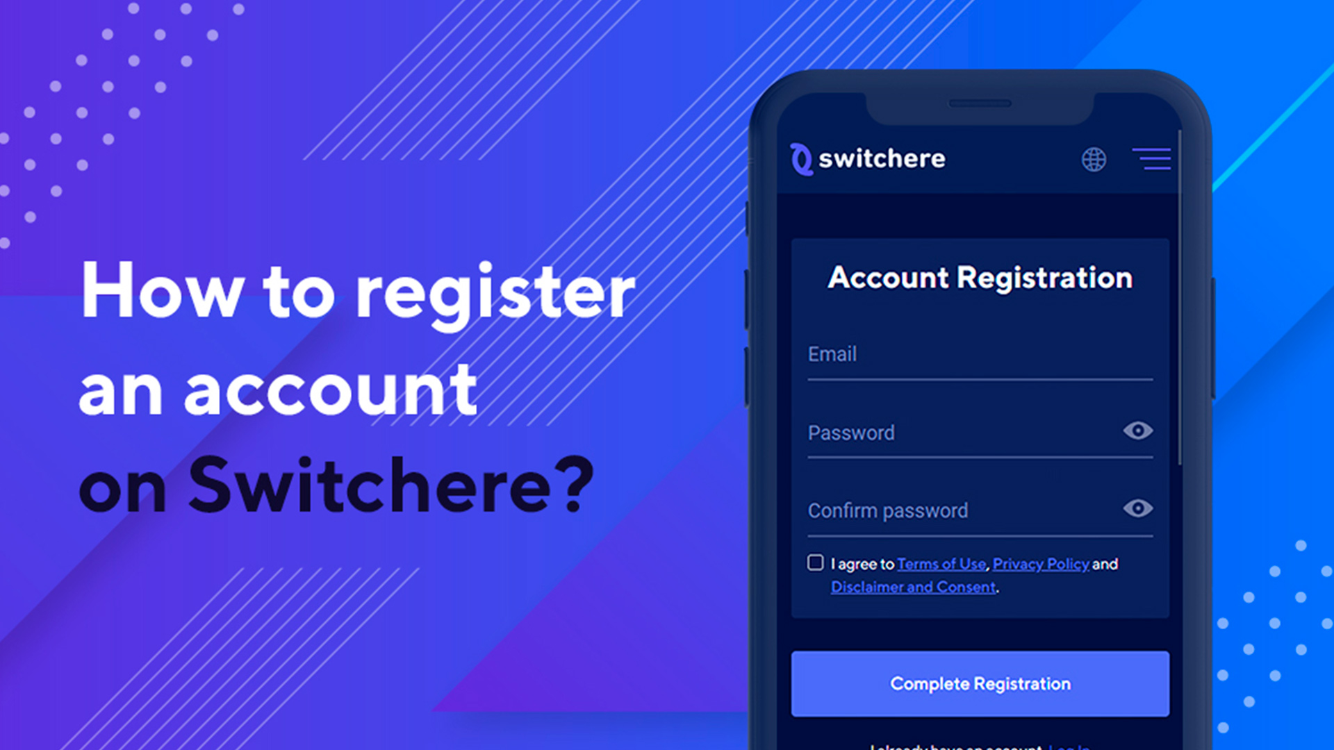 How to Register an Account on Switchere: Step-by-Step Tutorial