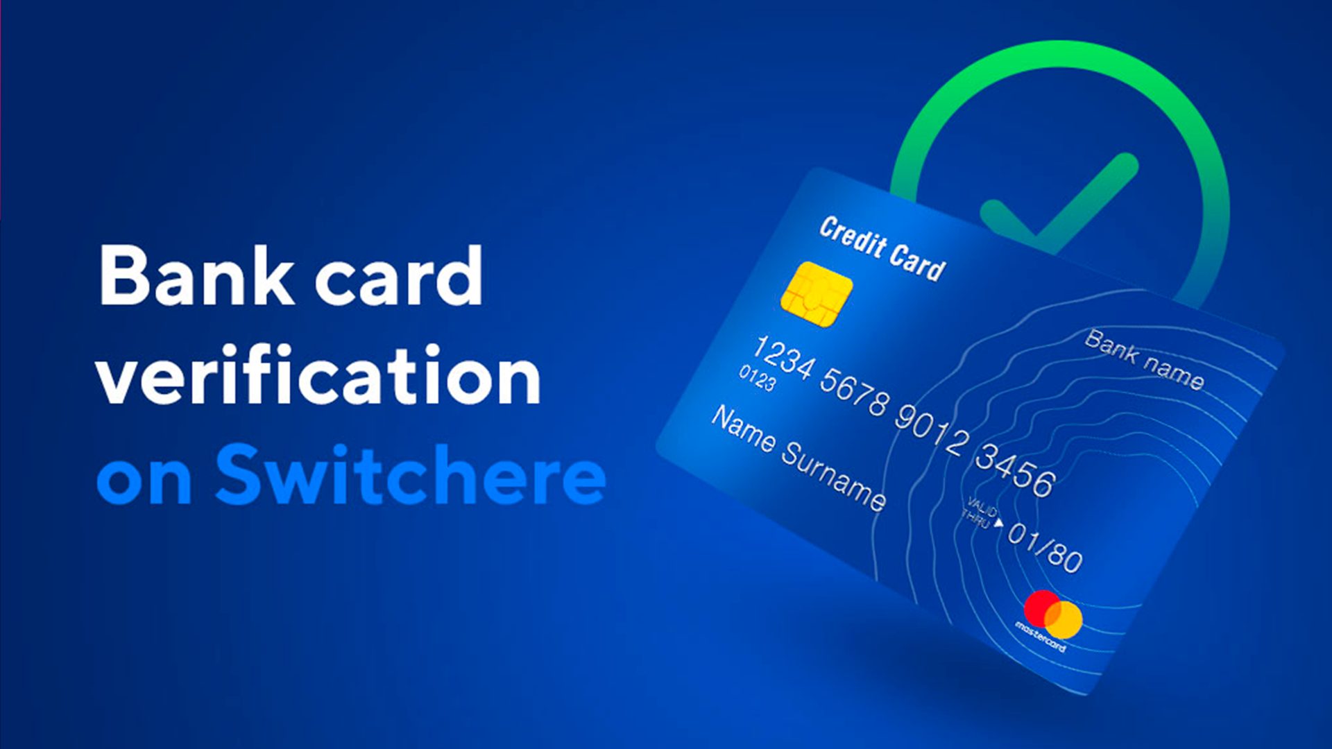 How to Verify Your Bank Card on Switchere