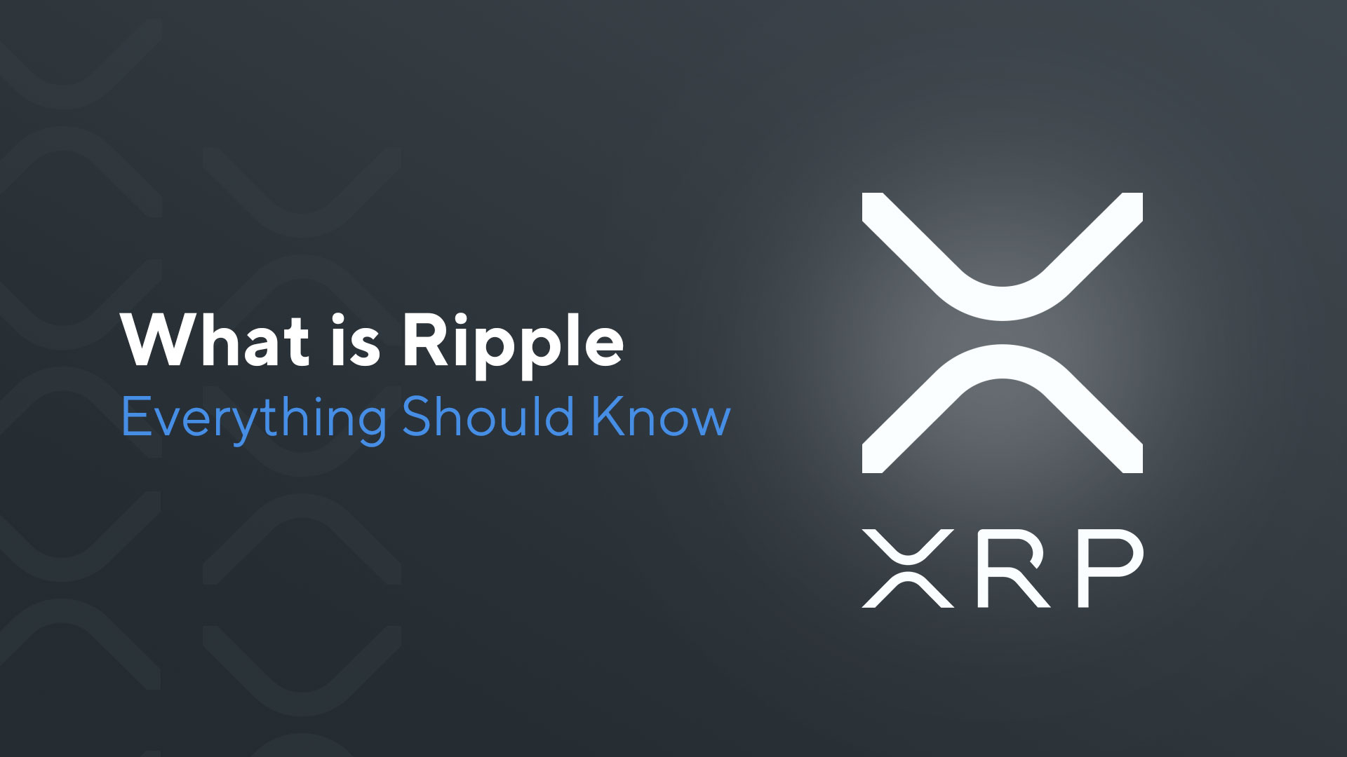 What is Ripple (XRP): Everything You Need to Know