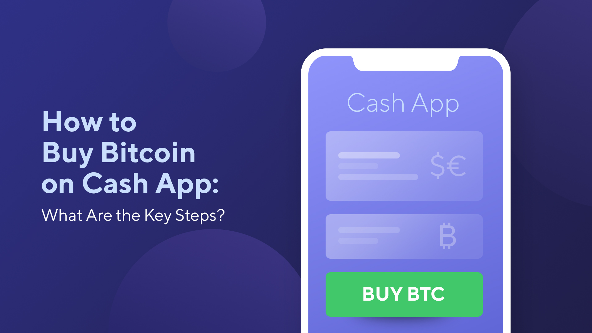 How to Buy Bitcoin on Cash App: What Are the Key Steps?