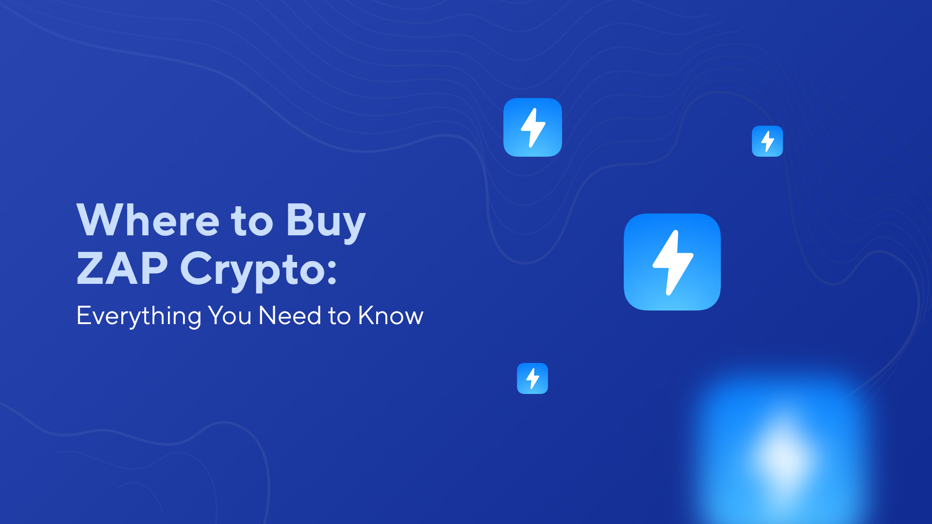 Where to Buy ZAP Crypto: Everything You Need to Know