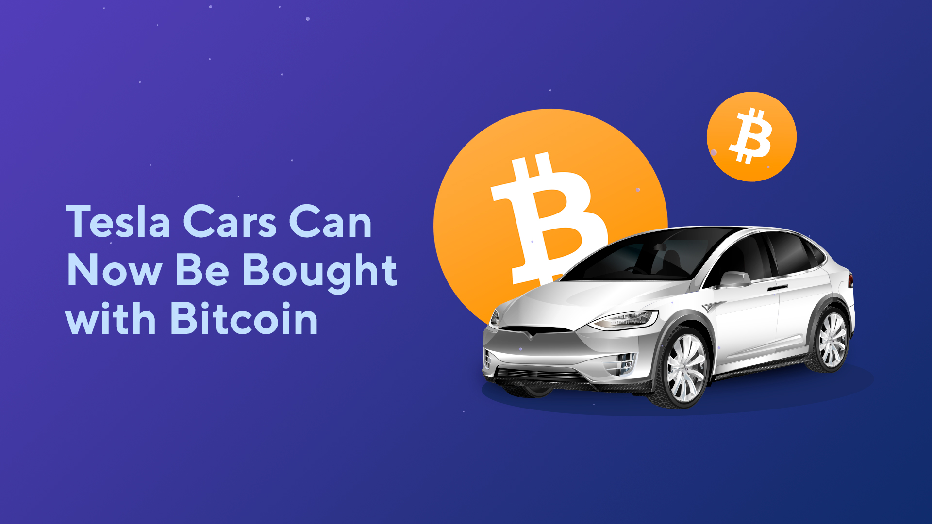 Tesla Cars Can Now Be Bought with Bitcoin