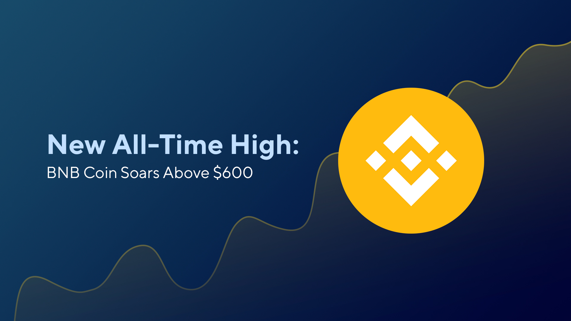 New All-Time High: BNB Coin Soars Above $600