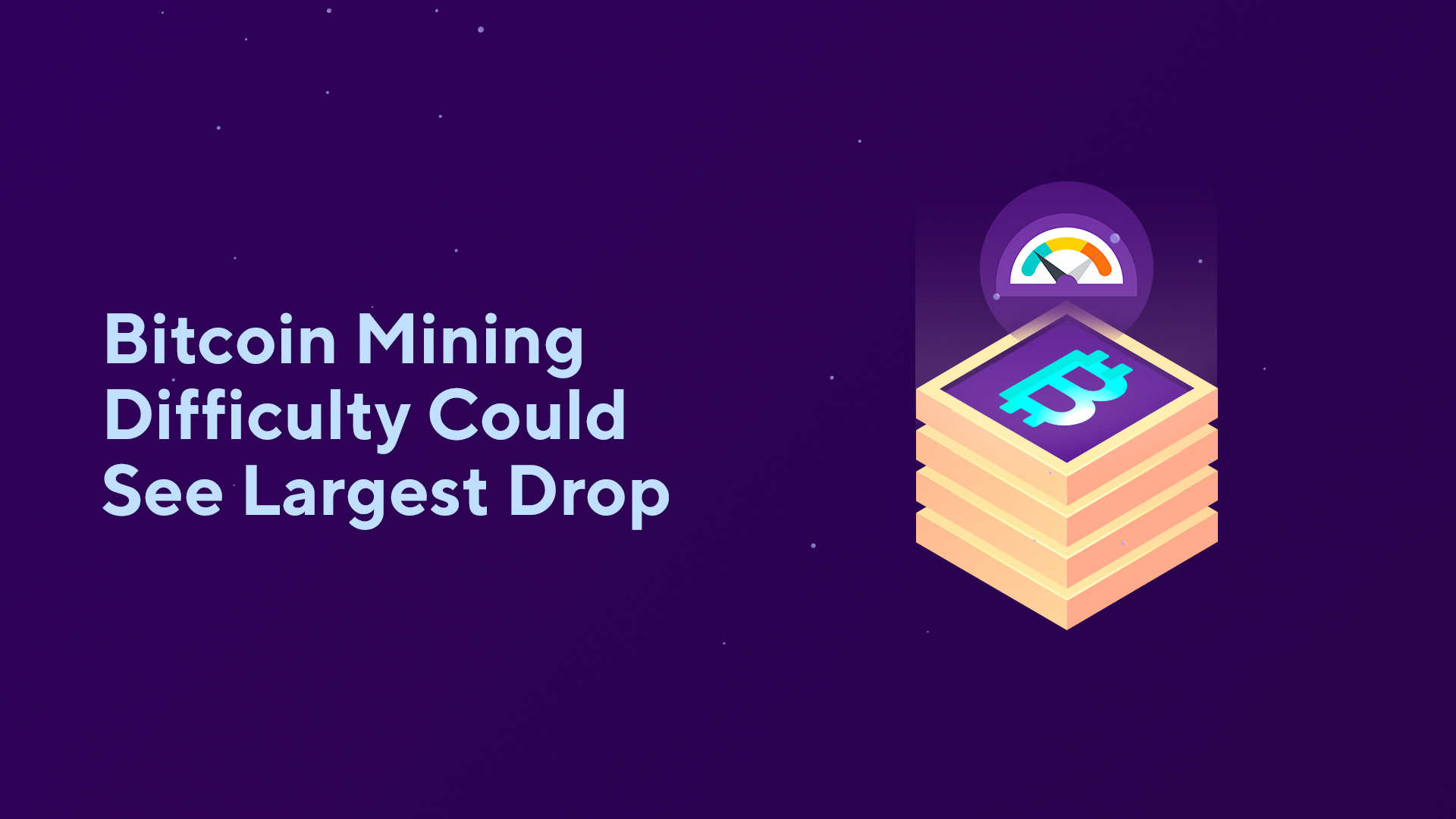 Bitcoin Mining Difficulty Could See Largest Drop