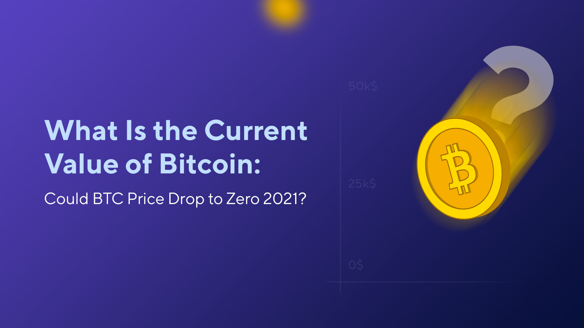 What Is the Current Value of Bitcoin: Could BTC Price Drop to Zero 2021?